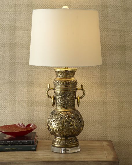 """""""Asian Brass"""" Lamp"""