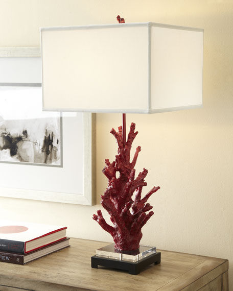 """Red Coral"" Lamp"