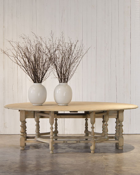 """William & Mary"" Gateleg Table"