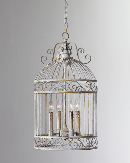 Domed Birdcage Pendant