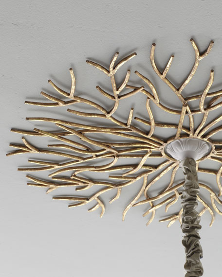 """""""Golden Twig"""" Ceiling Medallion"""