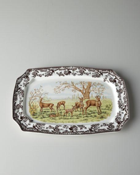 """""""Deer"""" Rectangular Platter"""