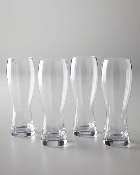 "Four ""Brewmasters"" Beer Glasses"
