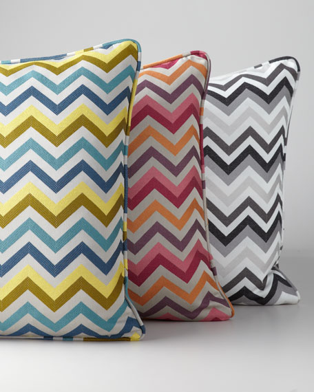 Chevron Accent Pillow
