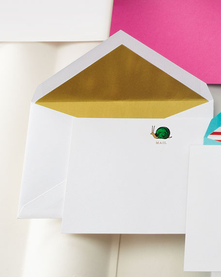 """""""Snail Mail"""" Notecards"""