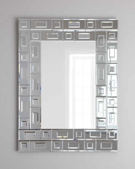 """Vance"" Geometric Wall Mirror"