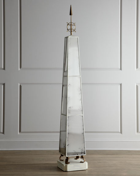 """Obelisk Fantastique"" Sculpture"