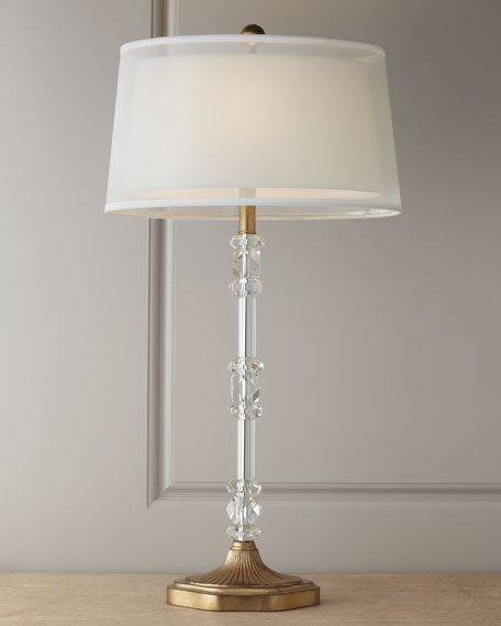 """""""Sophisticated"""" Crystal Lamp"""
