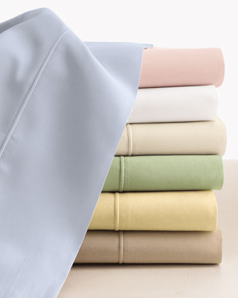 Two King Italian 500 Thread Count Percale Pillowcases