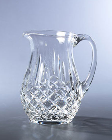 """Lismore"" Crystal Pitcher"
