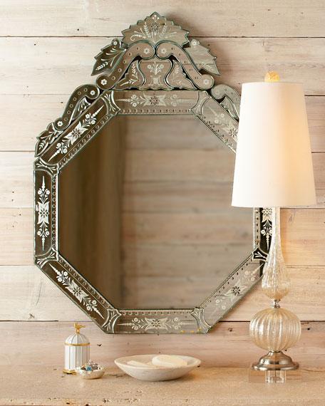 """""""Vasari"""" Venetian-Style Mirror"""