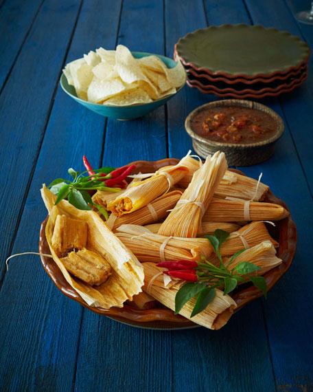 72 Handmade Tamales, For 18-24 People