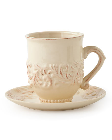 Four Cups & Saucers