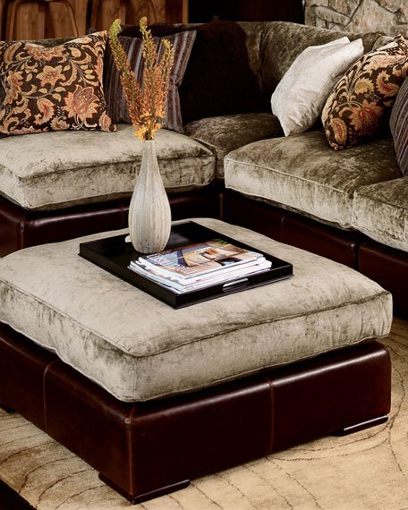 Ordinaire Sectional Ottoman