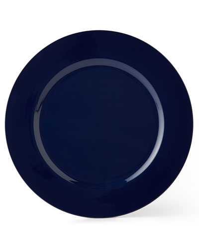 12 Blue Charger Plates