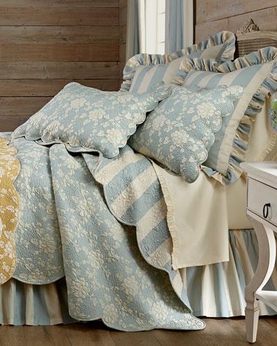 Madeline Floral/Stripe Standard Sham