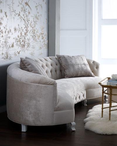Monroe Tufted Sofa 114