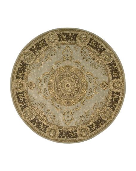 Medallion Garden Rug, 8' Round