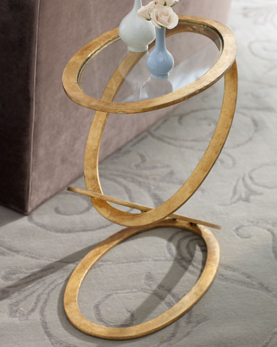 Gilded Ring Table