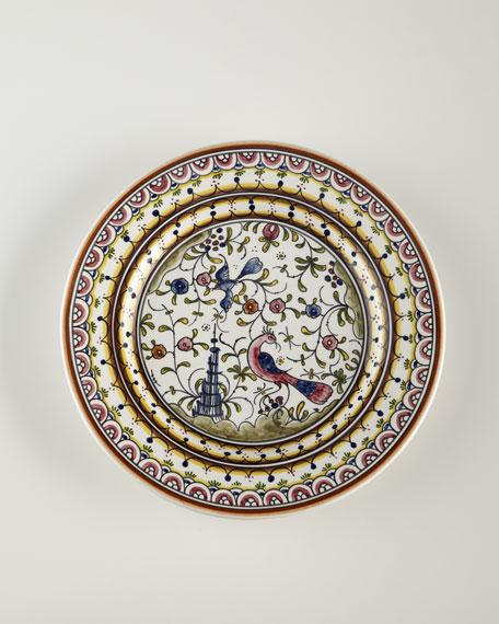 Neiman Marcus Four Pavoes Dinner Plates