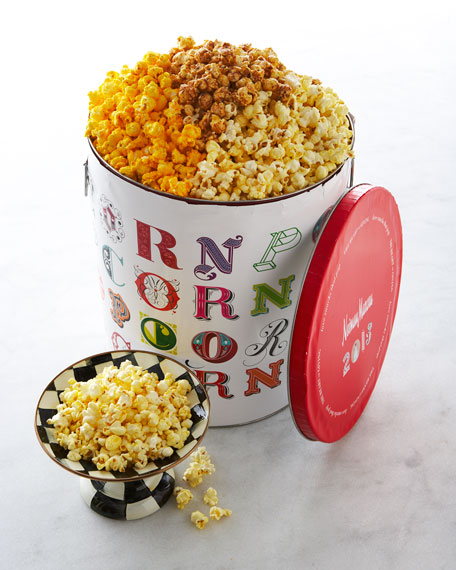 Annual Popcorn Tin