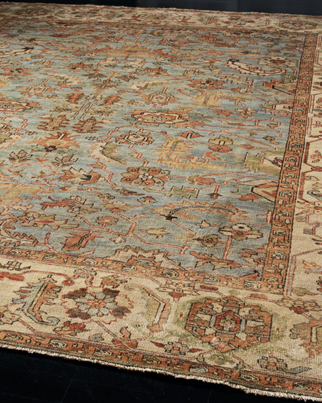 Exquisite Rugs Seaside Oushak Rug, 6' x 9'
