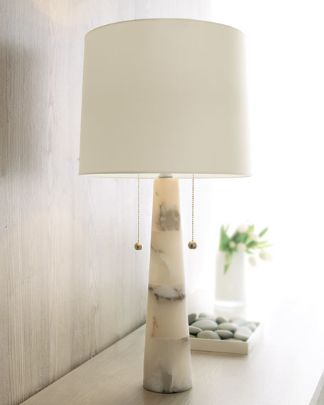 Bedroom Lamps Sydney: Arteriors Sydney Marble Lamp