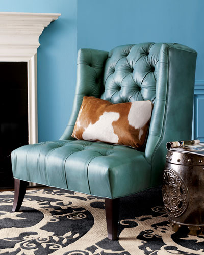 Tufted Chair & Pillow