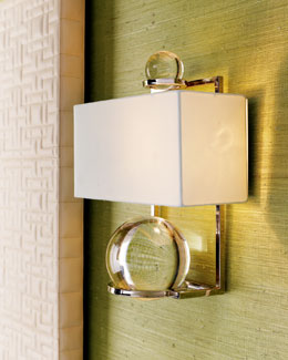 "Global Views ""Fortune Teller"" Sconce"
