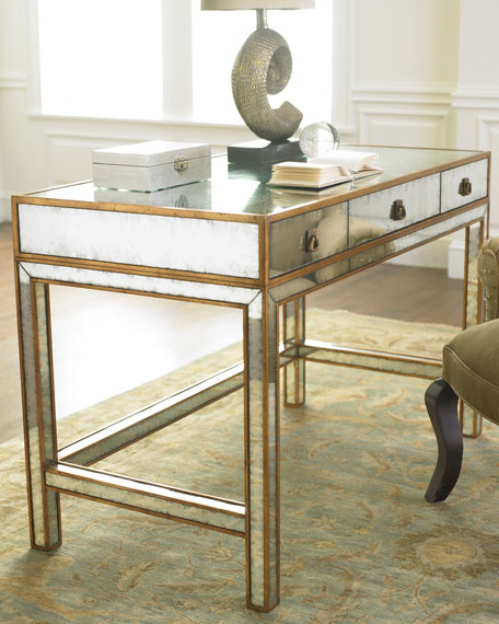 mirrored writing desk Find great deals on ebay for mirrored writing desk and glamour vanity shop with confidence.