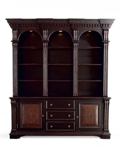 Olantio Bookcase & Hutch
