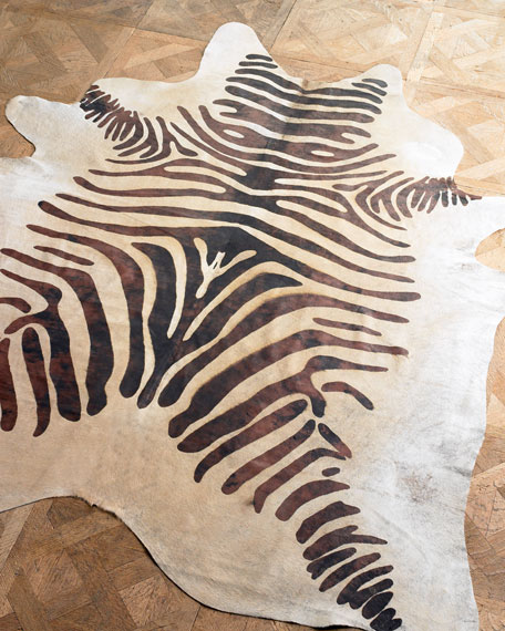 """Zebra Hide"" Rug"