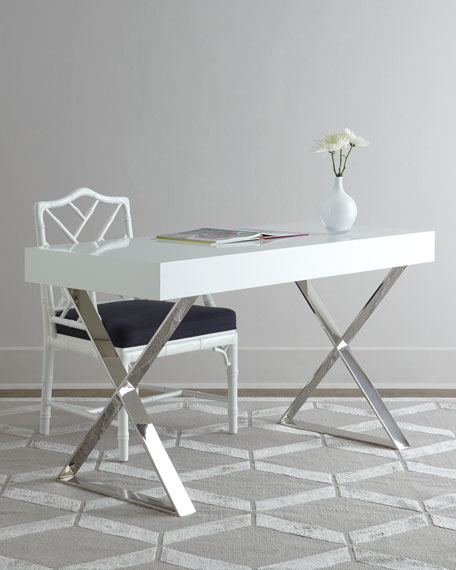 Office Desks White designer home office desks at horchow