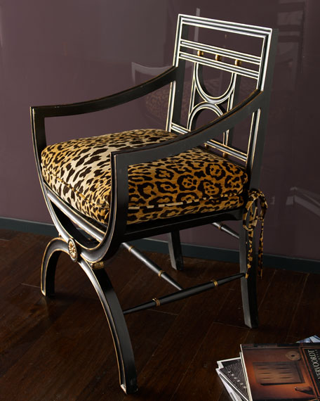 """Cheetah"" Roman Chair"