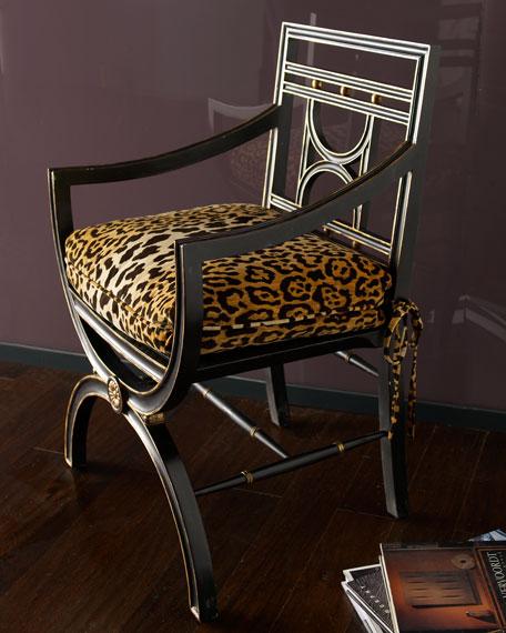 """""""Cheetah"""" Roman Chair"""