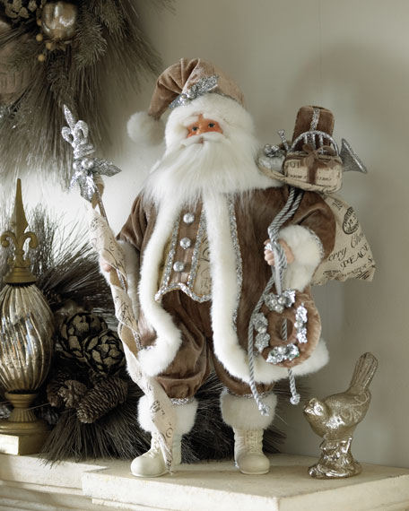 """Joyeux Noel"" Christmas Santa"