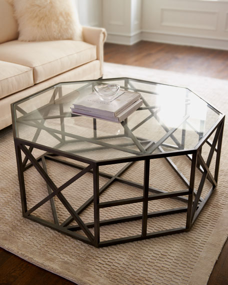 Charmant Octagon Coffee Table