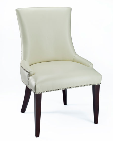 """Leticia"" Leather Dining Chair"