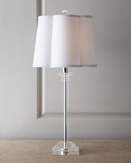 """Scallop Shade"" Buffet Lamp"