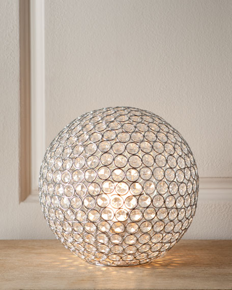 Quot Bosley Quot Crystal Ball Lamp