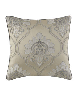 "Jane Wilner Designs Marquess Pillow, 20""Sq."