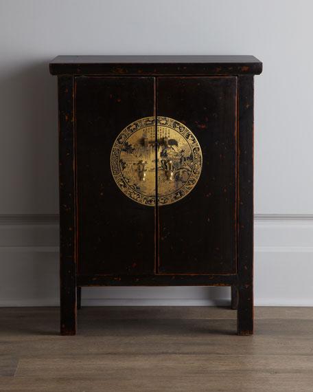 Antique Wood Cabinet
