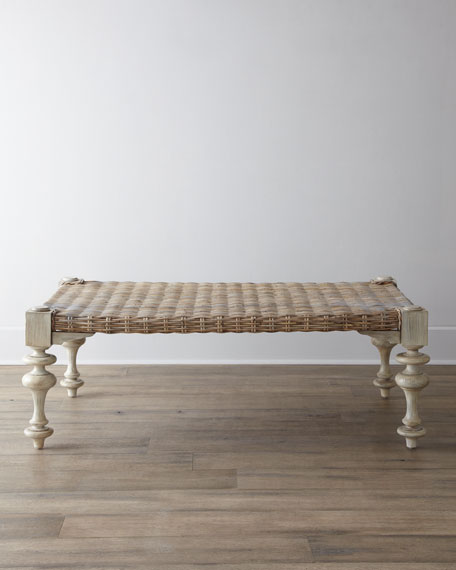 Merveilleux Ezra Seagrass Coffee Table