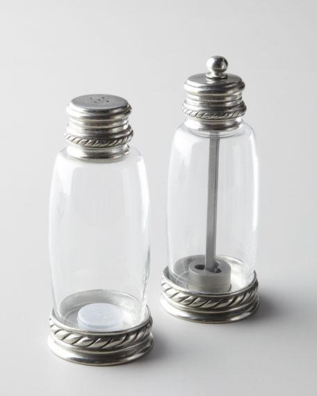 Pewter-Accented Salt & Pepper Set