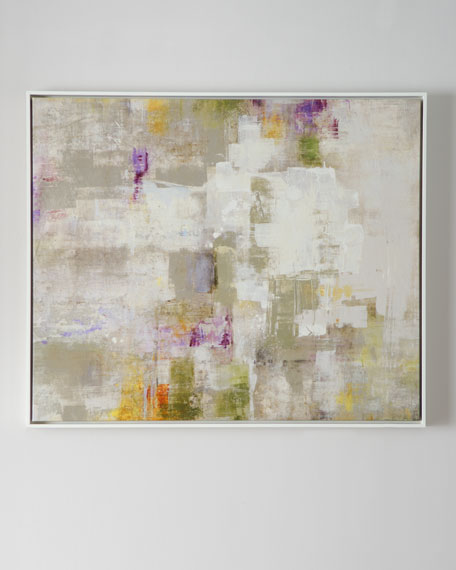 """Next"" Framed Abstract Giclee"