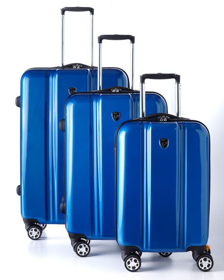 "Three-Piece ""Plateau"" Luggage Set"