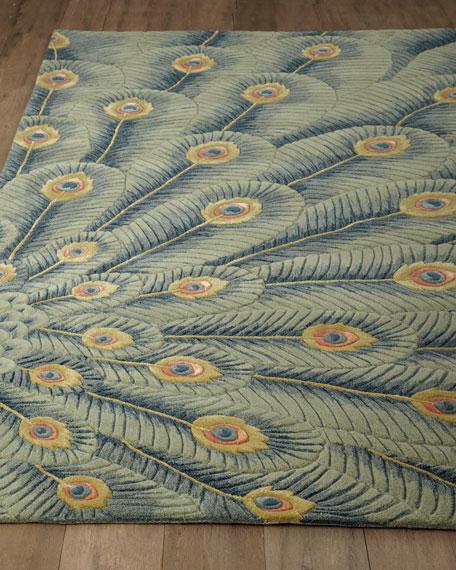 Fancy Peacock Rug