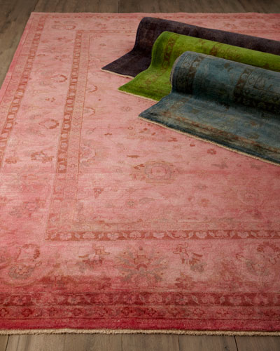 Madras Dyed Rug  6' x 9'