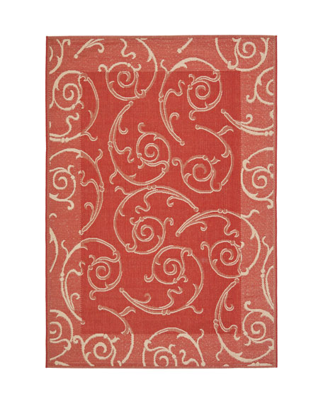 "Giddings Scroll Rug, 6'7"" x 9'6"""