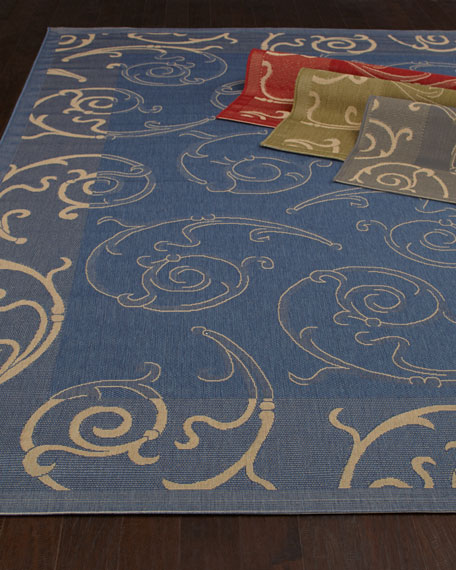 Giddings Scroll Rug, 8' x 11'2""